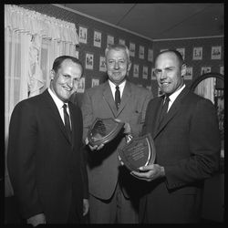 Granite High head football coach LaVell Edwards poses in May 1962.