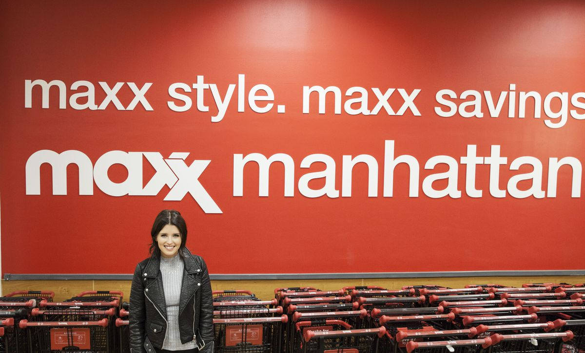 Katherine Schwarzenegger TJ Maxx Stop