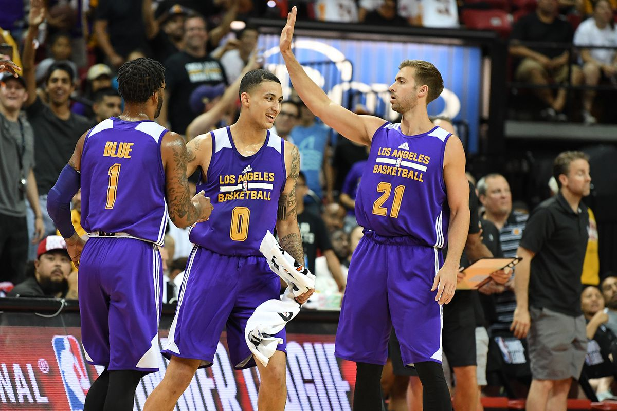 6007fa65b04 NBA Summer League scores 2017  Lakers beat Trail Blazers to win championship
