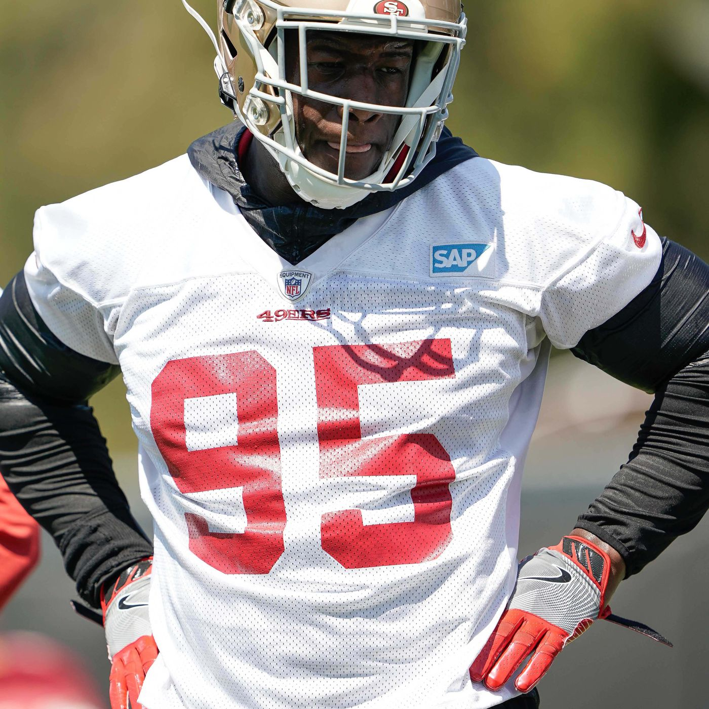 buy online 6b7a2 7c0a5 49ers training camp bubble watch: Kentavius Street - Niners ...