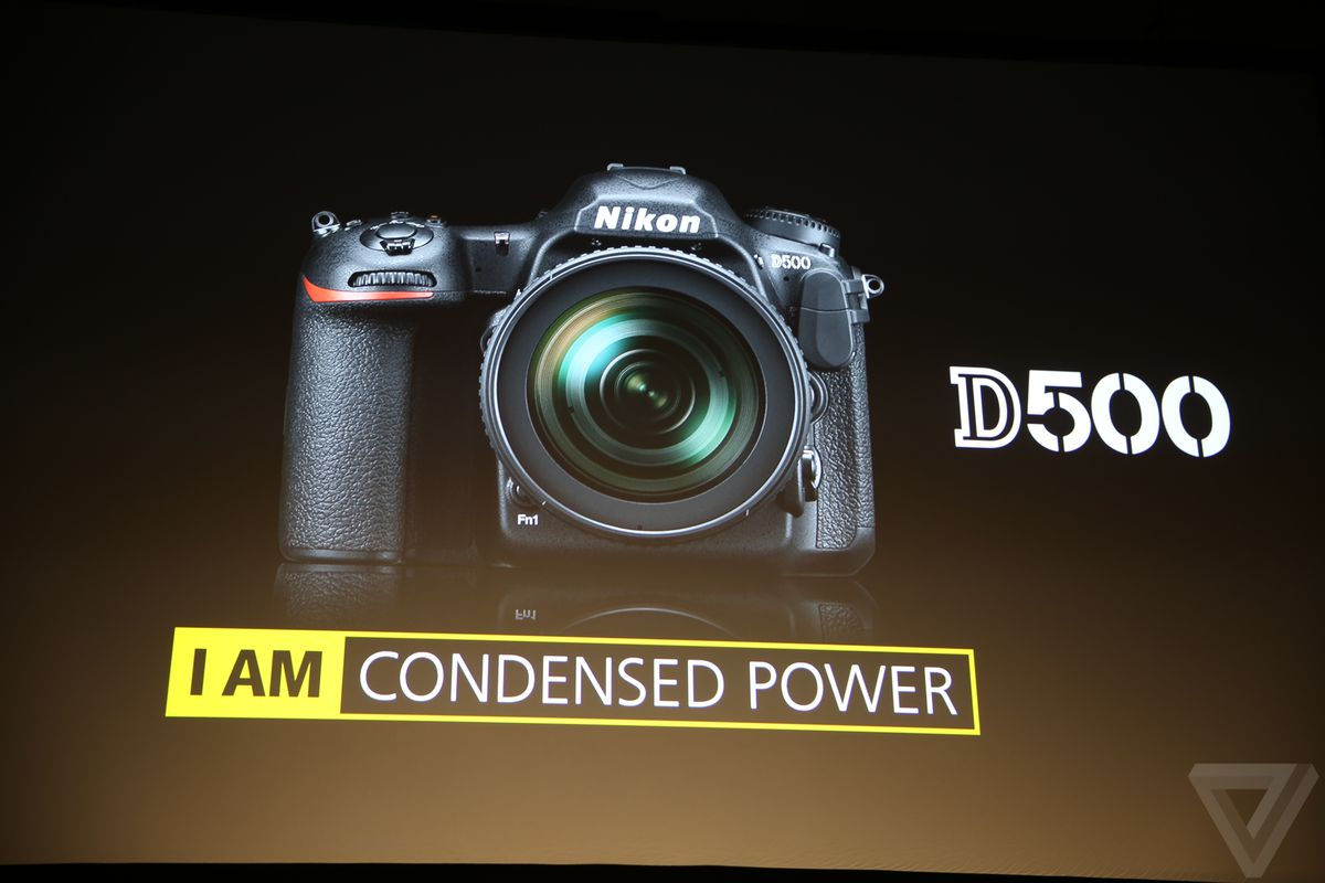 Nikon announces the D500, its new DSLR for the smartphone