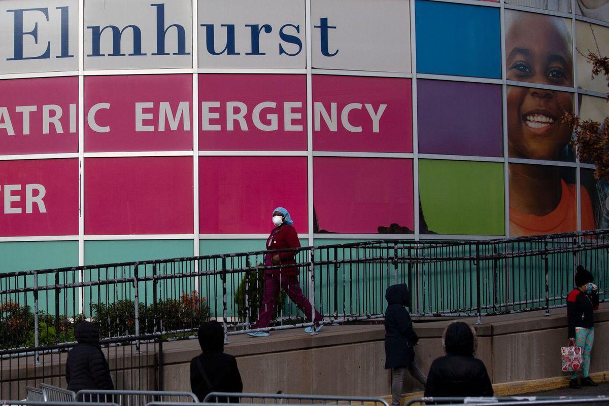 Elmhurst Hospital.