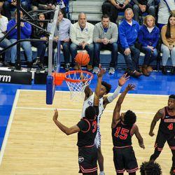 Kentucky defeats Georgia 89-79 in Rupp Arena on Jan. 21, 2020.