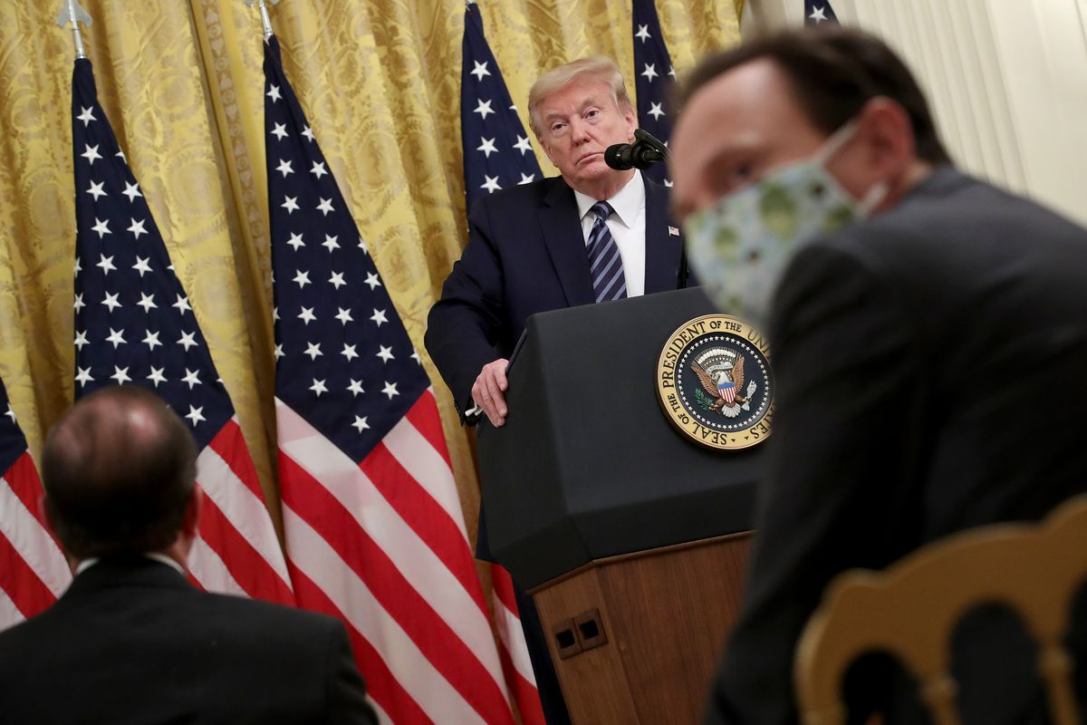 President Trump Delivers Remarks On Protecting America's Seniors From COVID-19