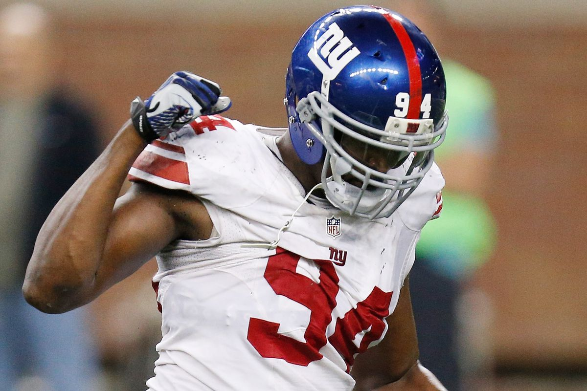 Kiwanuka took a pay cut to stay with the Giants