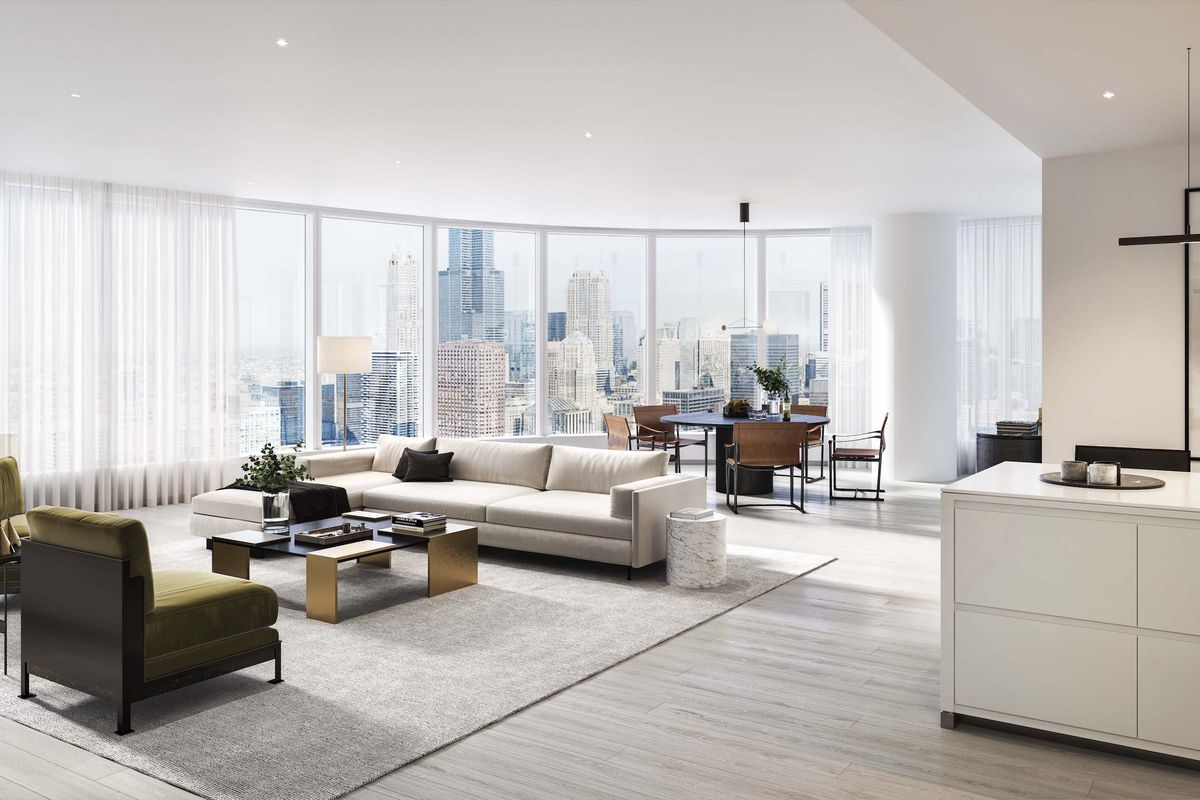 A first look at the Kara Mann-designed interiors for 1000M - Curbed ...