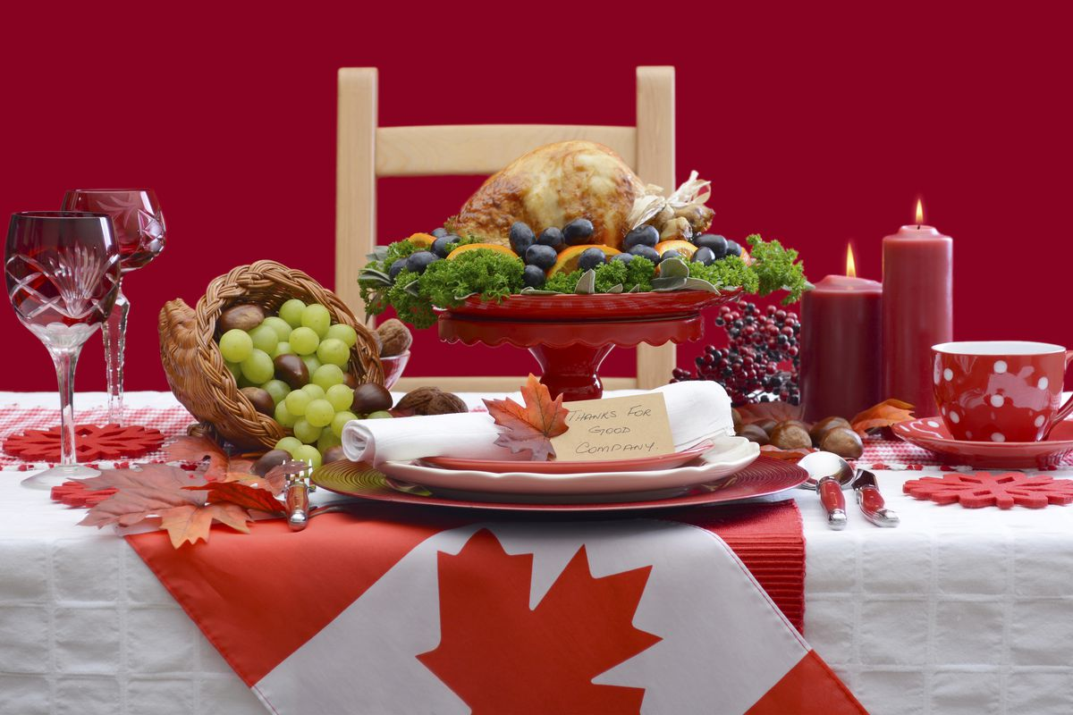 Today Is Canadian Thanksgiving And Yes It S Pretty Much
