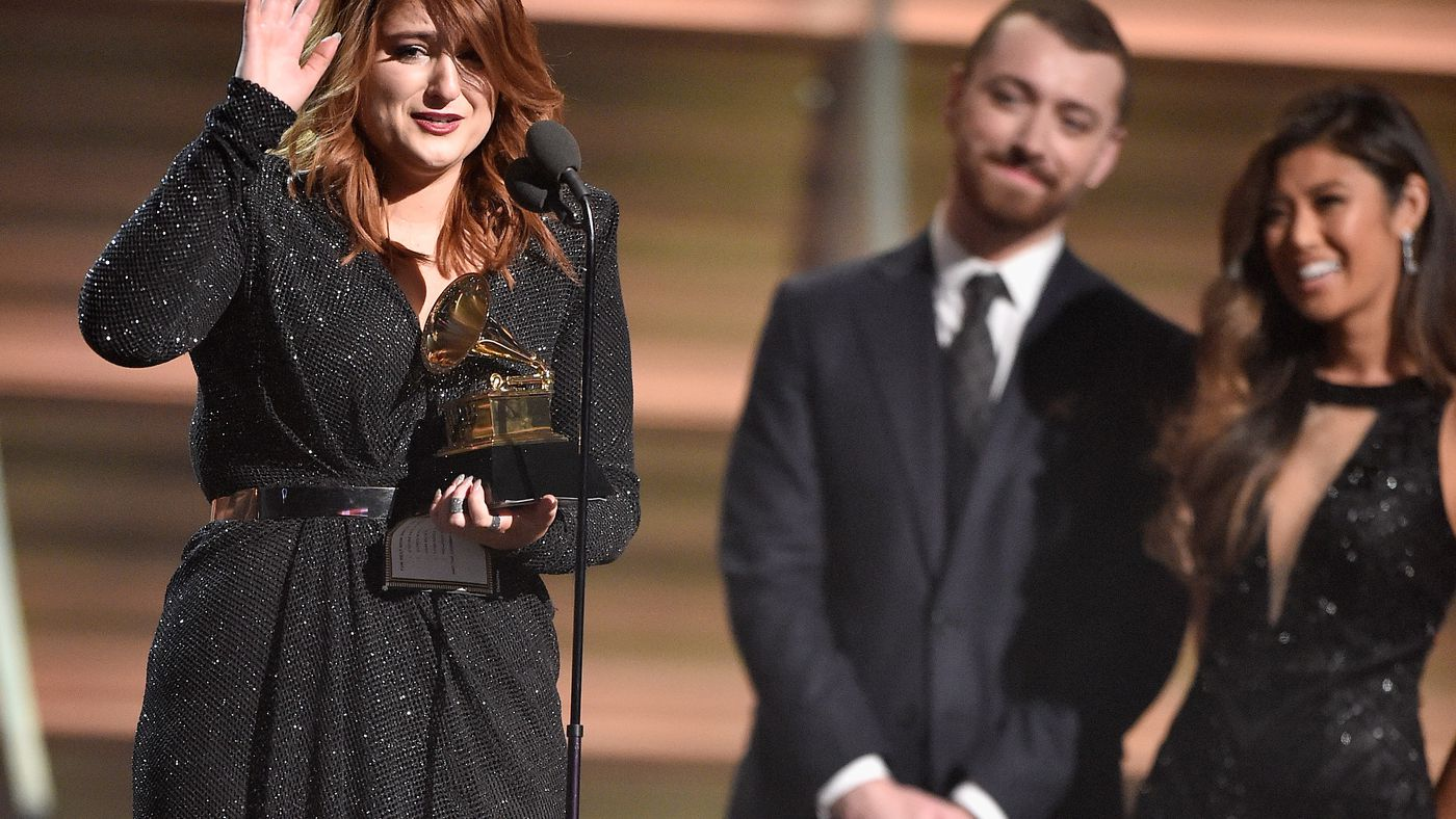 Grammys 2016 Should Meghan Trainor Have Won Best New Artist Ask Tori Kelly S Wikipedia Page Vox