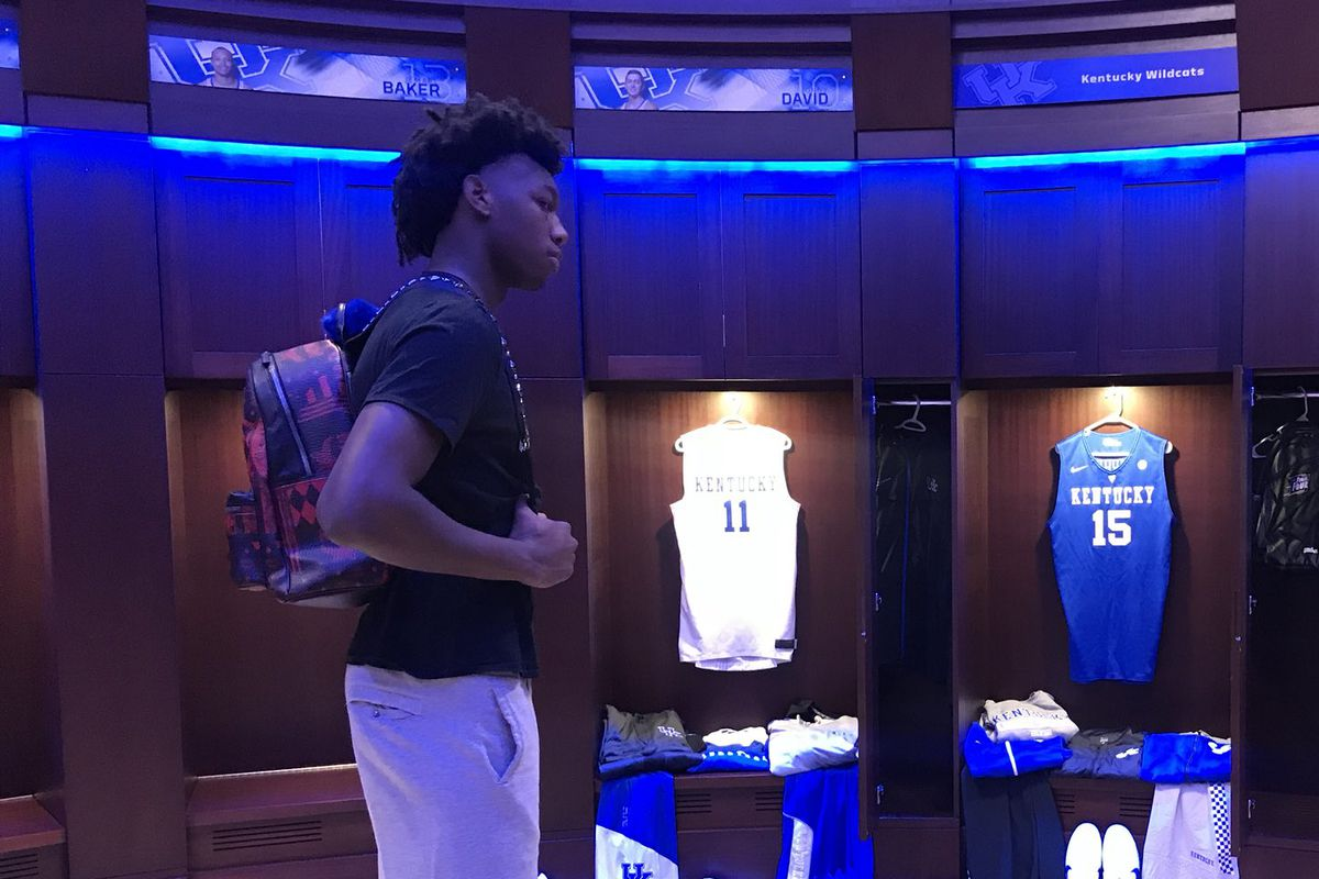 Calipari S Kentucky Wildcats Are Young Streaky And Loaded: Kentucky Basketball: Positive Buzz For James Wiseman