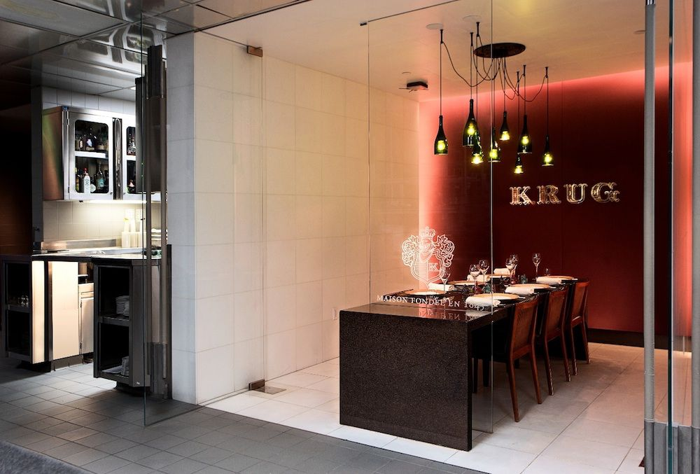 Restaurant Guy Savoy's Krug Room
