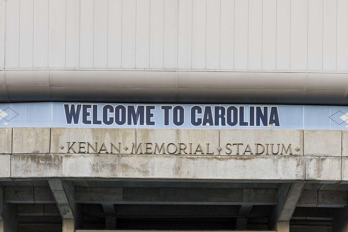 University of North Carolina football stadium...