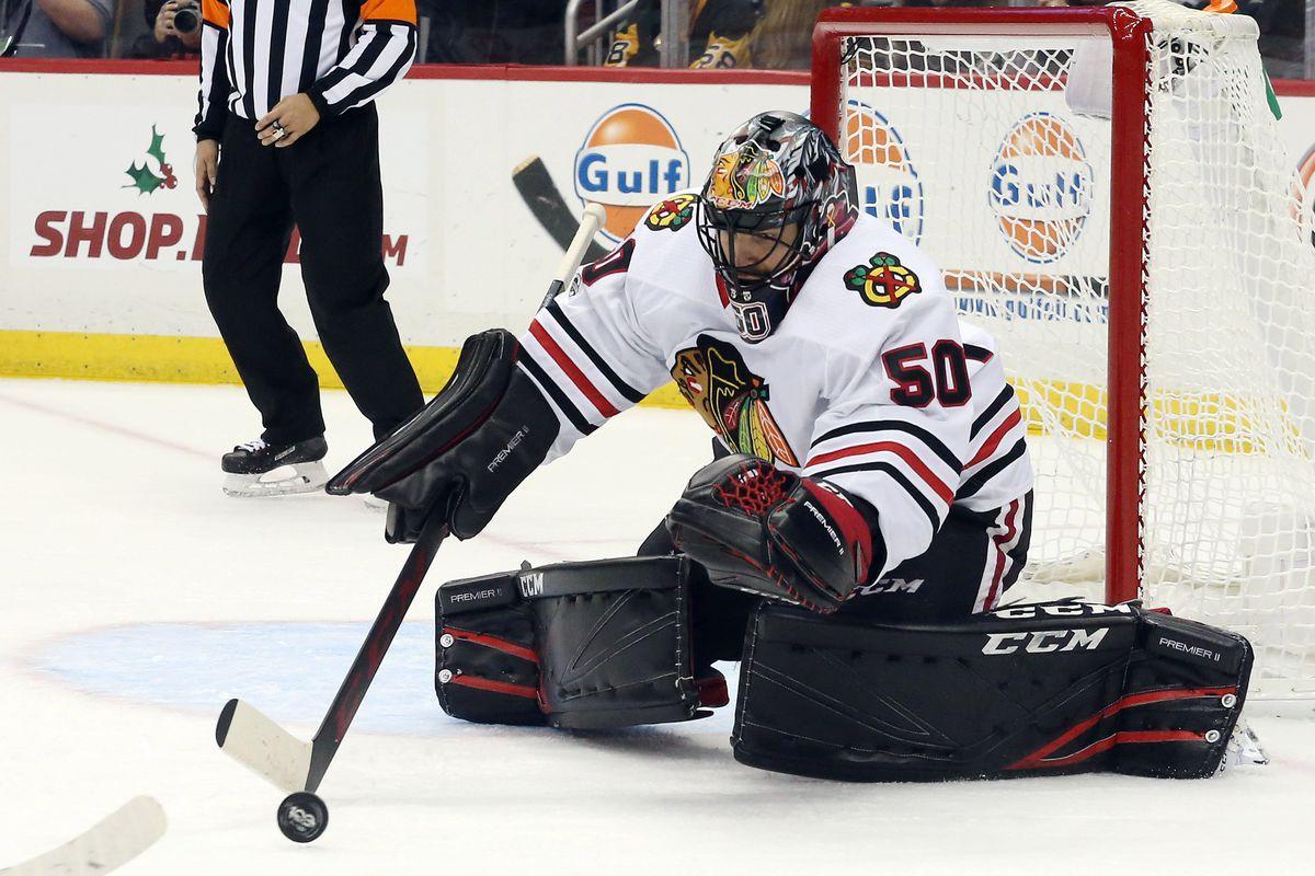 NHL: Chicago Blackhawks at Pittsburgh Penguins