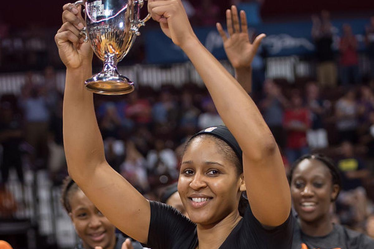Maya Moore MVP All-Star