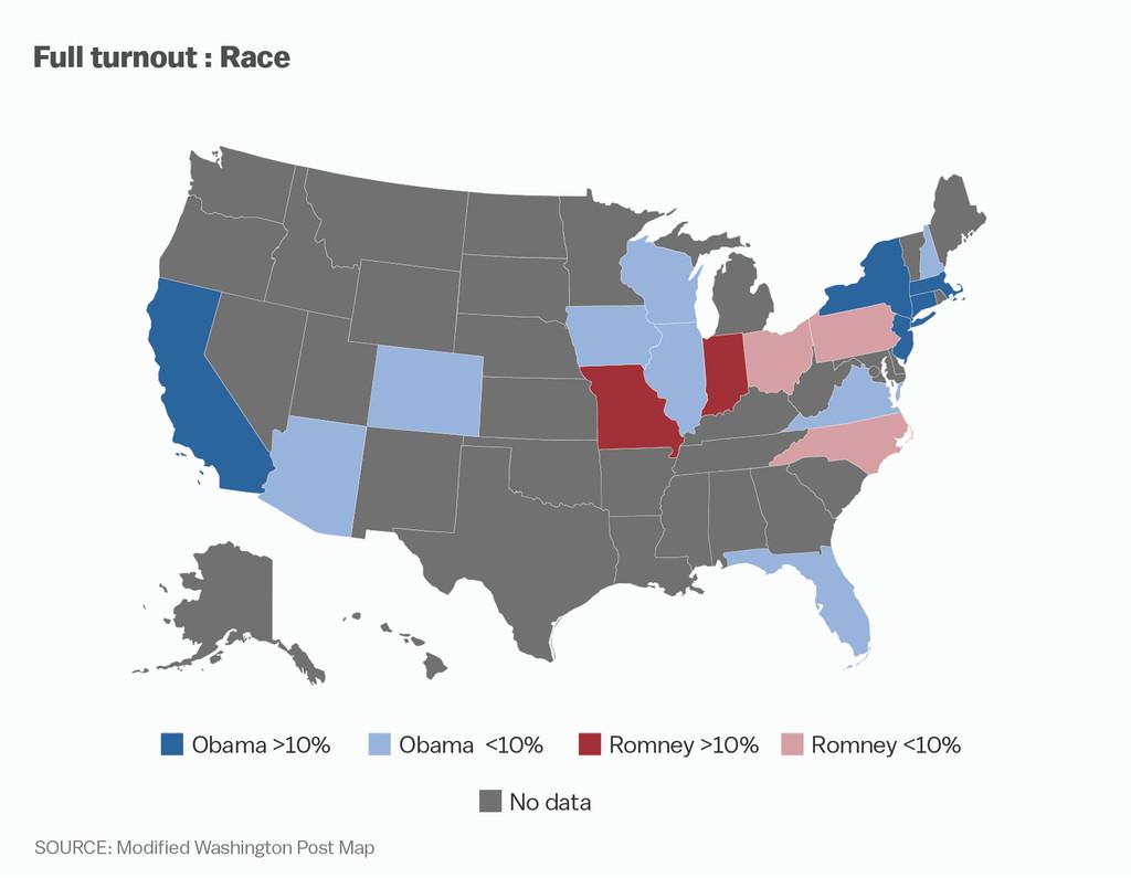 Post race map modified