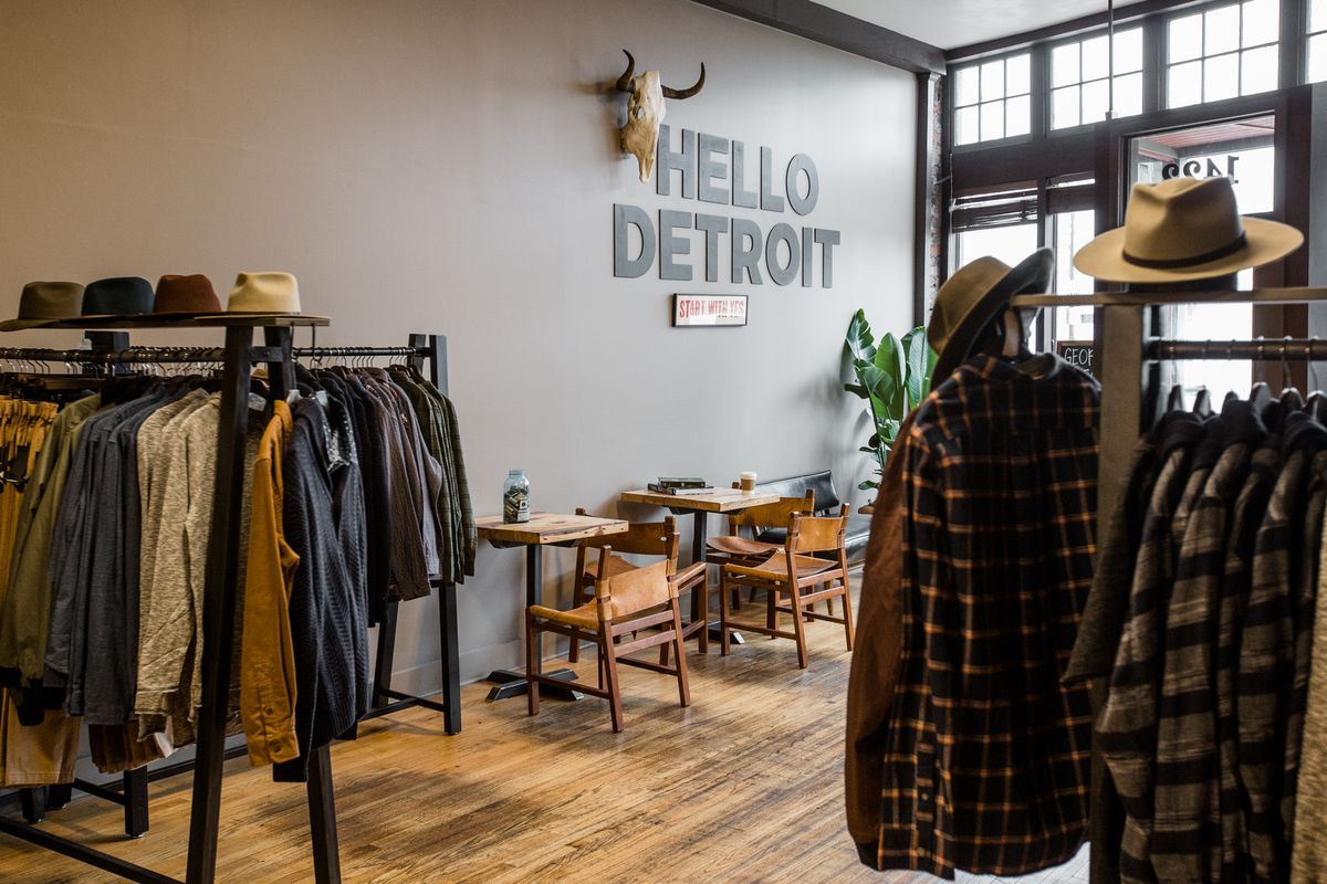 Clothing Store George Gregory Opens In Corktown Curbed Detroit