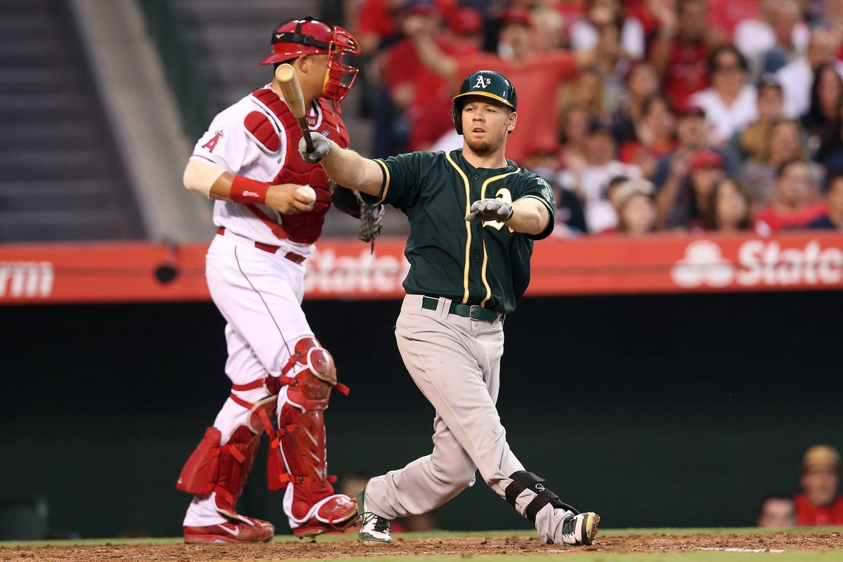 This, times three, for Brandon Moss alone.