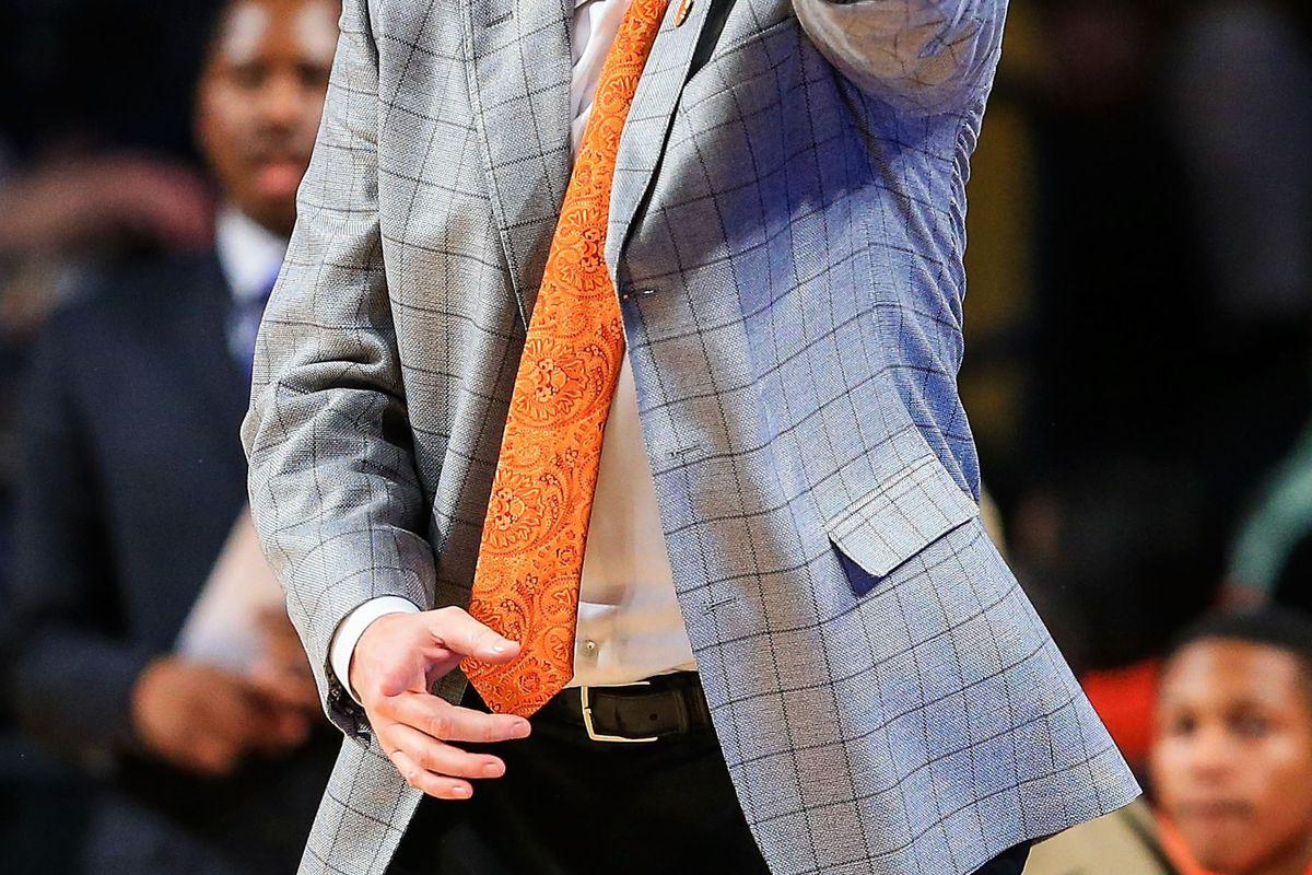 Clemson coach Brad Brownell