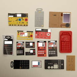 A host of different design concepts for the Pocket Operator series, including some that ended up being used in the final product