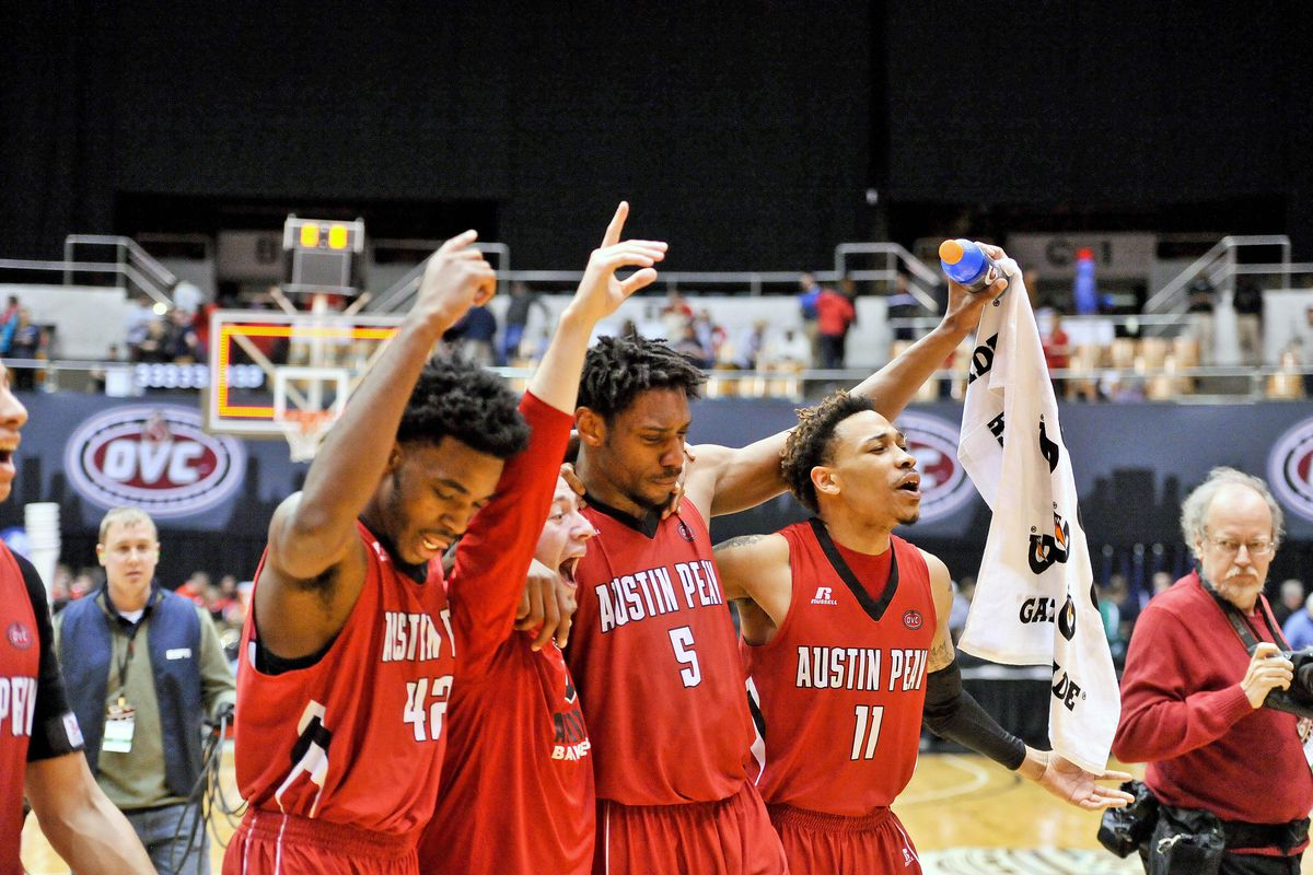 NCAA Basketball: Ohio Valley Conference Tournament-Belmont vs Austin Peay