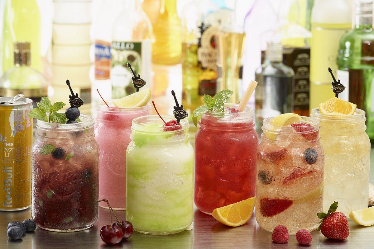 Hard Rock Cafe's new Mason jar cocktails