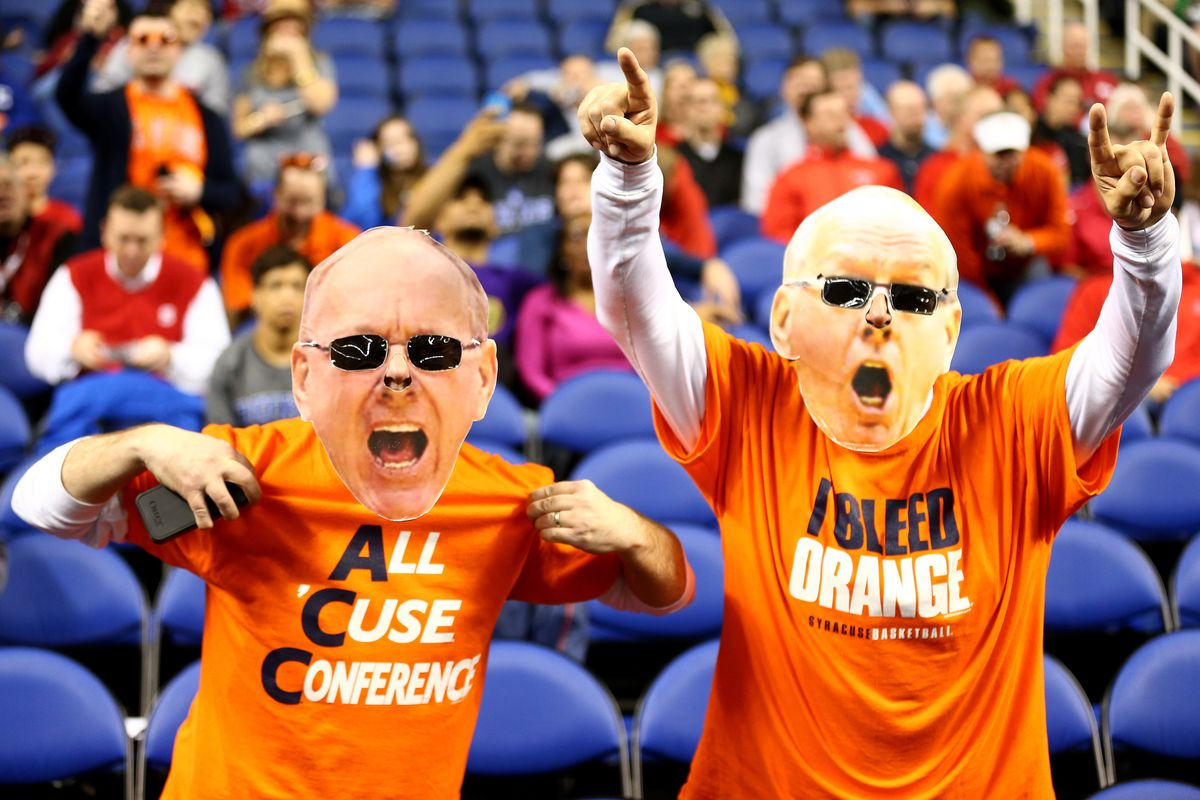 Syracuse Basketball Orange Madness Student Section Details Troy