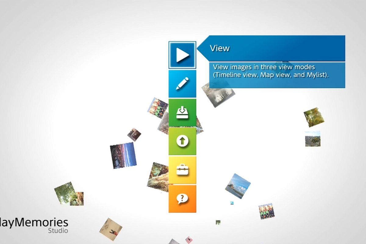 Sony's PlayMemories Studio PS3 photo and video editing app