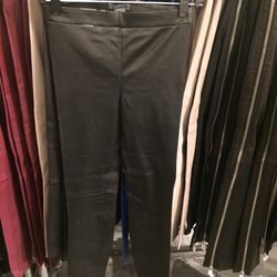 Leather pants, size S $199 (were $1,175)