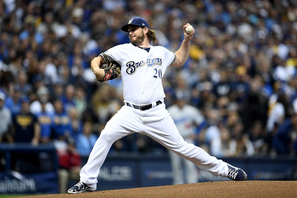 League Championship Series - Los Angeles Dodgers v Milwaukee Brewers - Game Six