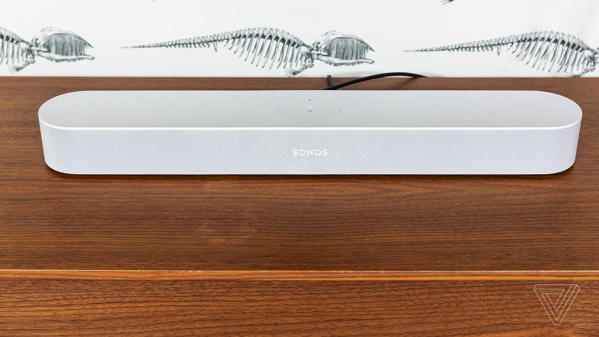 Sonos Beam Review Living Room Upgrade The Verge How To Build Simple Digital Volume Control Photo By Amelia Holowaty Krales