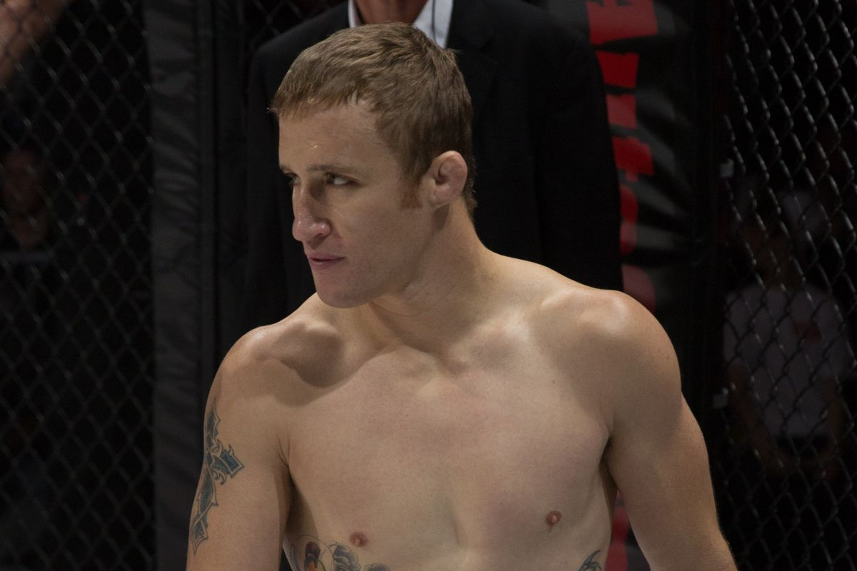 Justin Gaethje defends the lightweight title on March 28th.