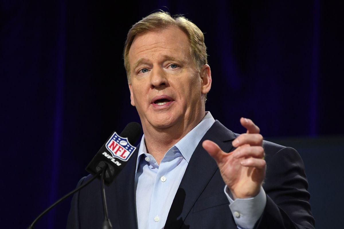 NFL: Super Bowl LII-Commissioner Roger Goodell Press Conference