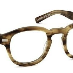 """<strong>Warby Parker</strong> Fillmore in Sandalwood Matte, <a href=""""http://www.warbyparker.com/eyeglasses/men/fillmore#sandalwood-matte"""">$95</a> (includes frames and prescription lenses)"""