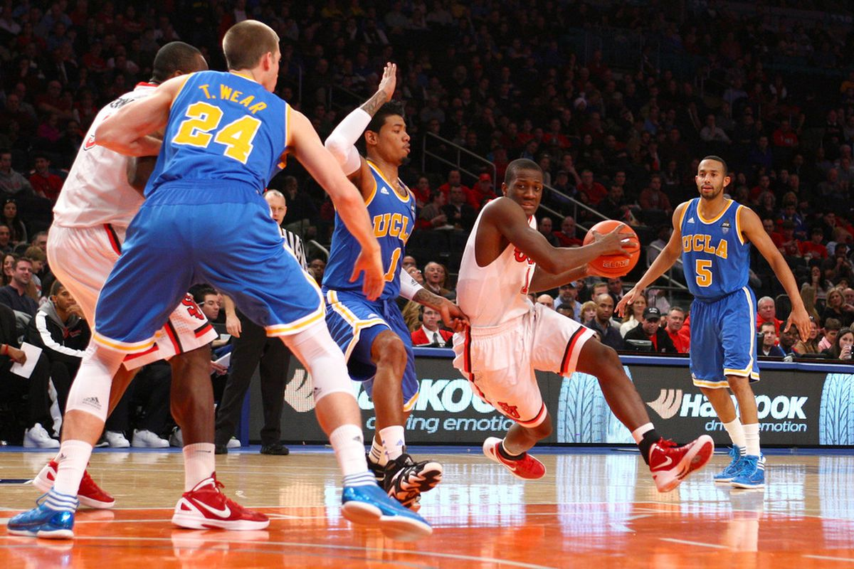 St. John's - back at Madison Square Garden, hoping to make the place Rumble.