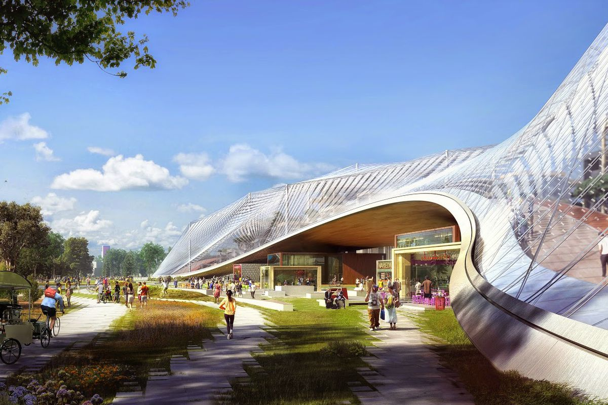 Google may get its futuristic new campus after all the verge for Google house builder
