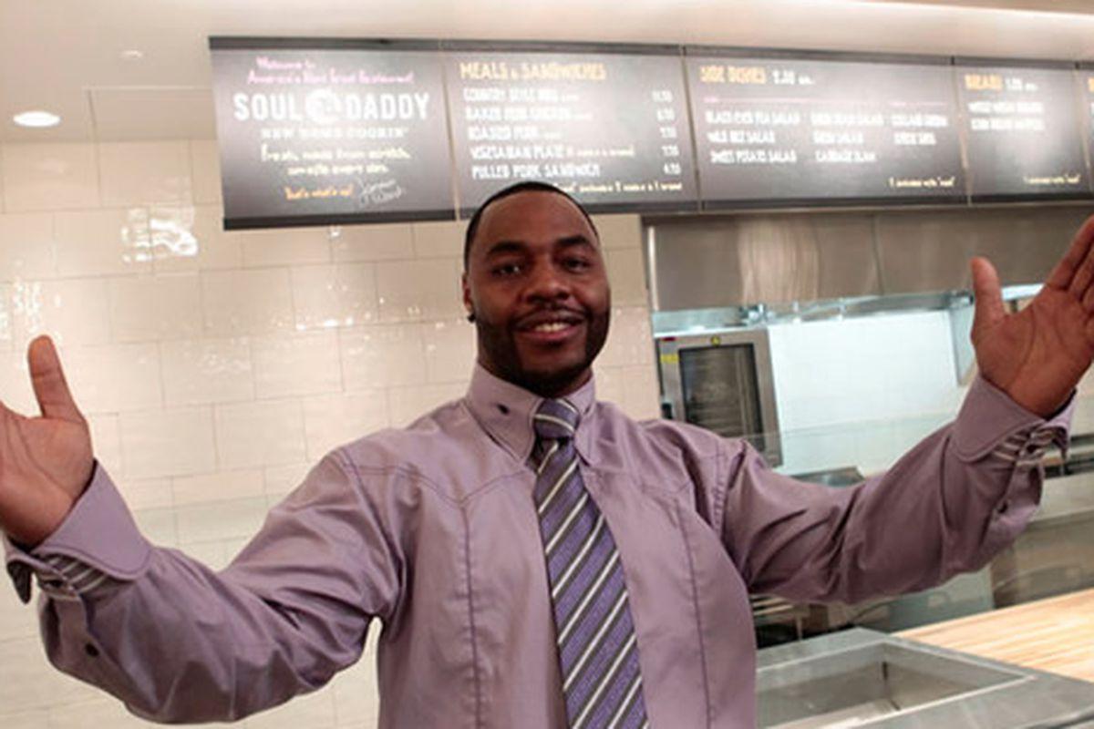 Jamawn Woods, winner of America's Next Great Restaurant
