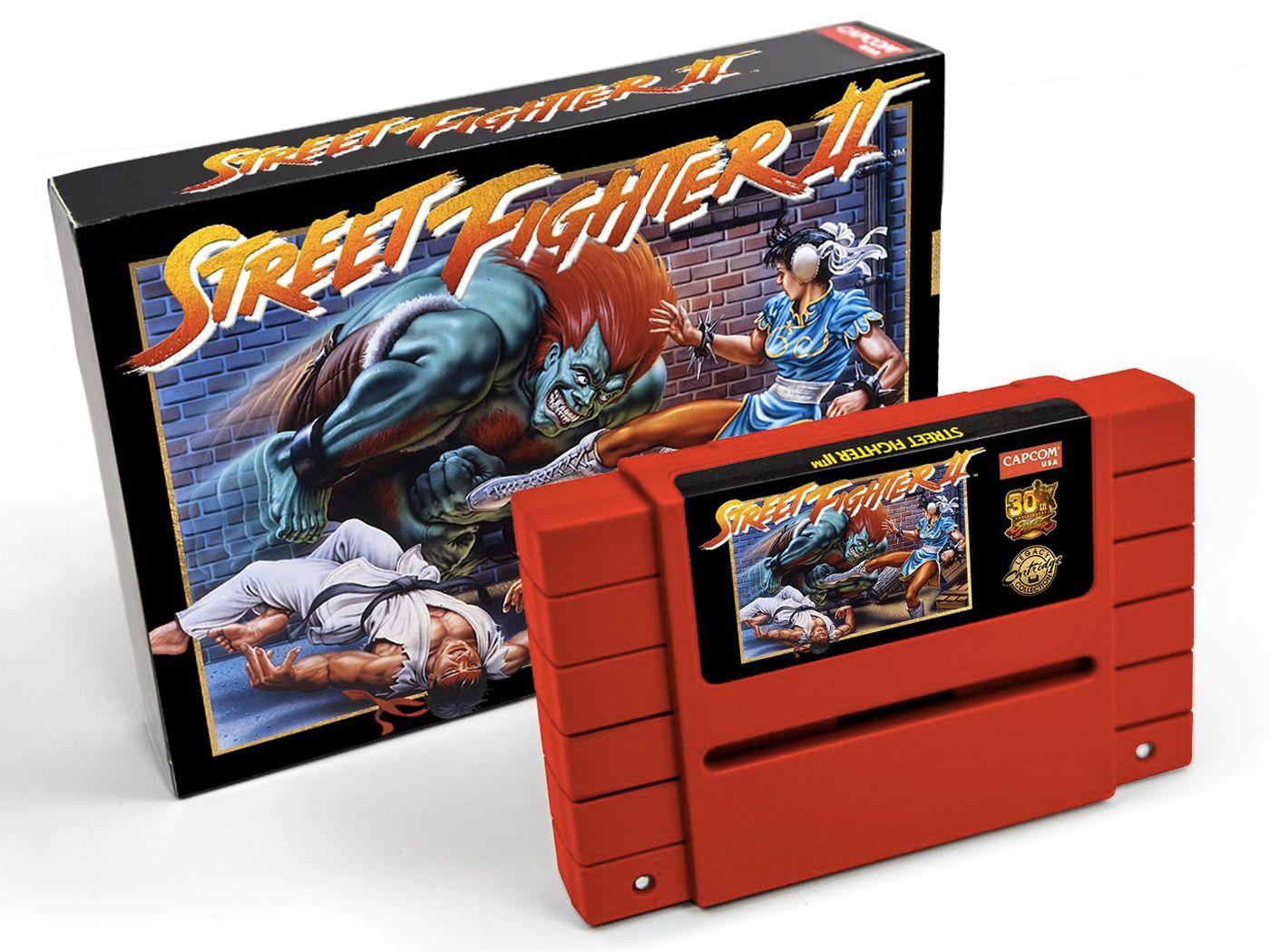 Capcom Re Releasing Street Fighter 2 On Snes Cartridge Polygon