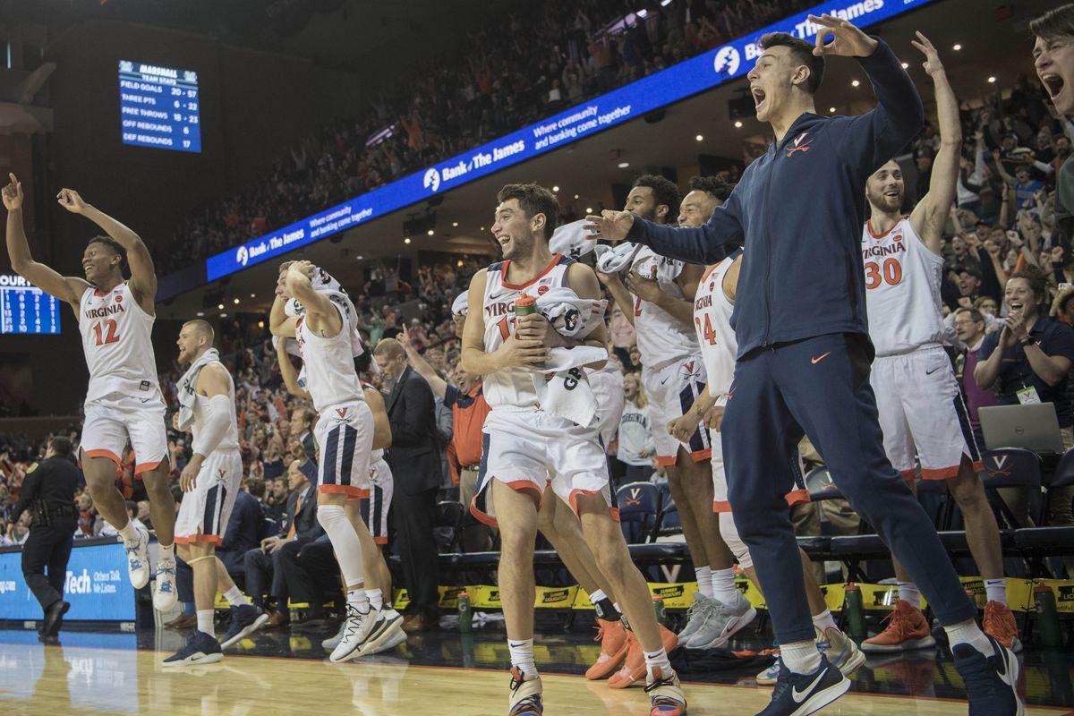 NCAA Basketball: Marshall at Virginia