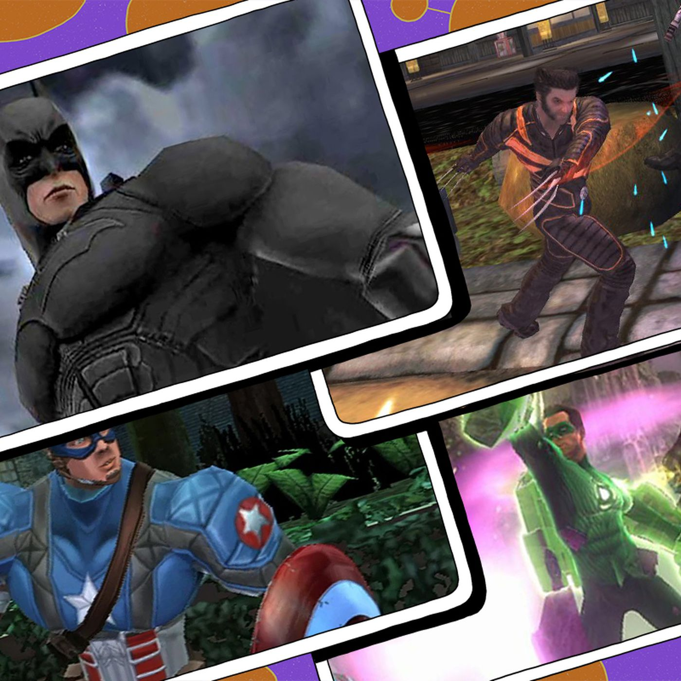 Video comic List of
