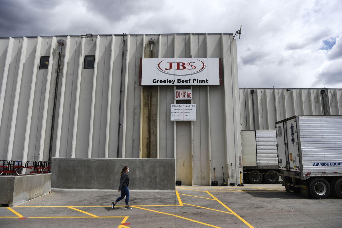 A JBS Foods plant in Greeley, Colorado.