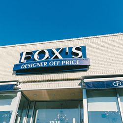 """<b>↑</b><b><a href="""" http://fox-designer-off-price.myshopify.com/"""">Fox's</a></b> (70-39 Austin Street) is the area's headquarters for discount designer fashion, so stop by to stock up on usually pricier brands—like <b>Seven For All Mankind</b> and <b>Mich"""
