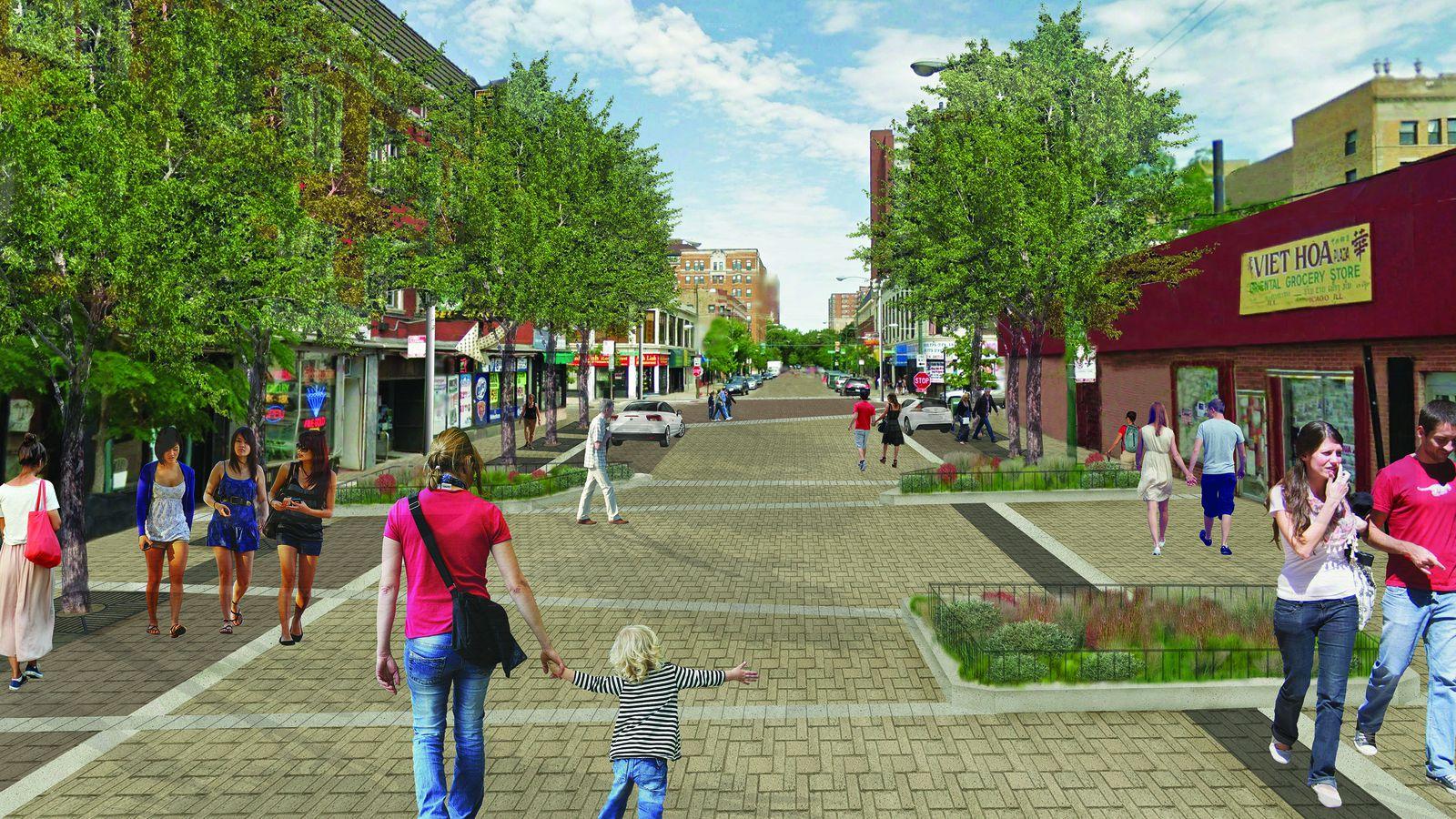 Will Shared Street Project On Argyle Help Area Restaurants