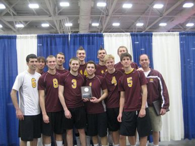 Minnesota Men's Volleyball Team