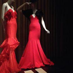 Right, Flamenco-inspired Ralph Lauren dress and bolero hat, spring 2013