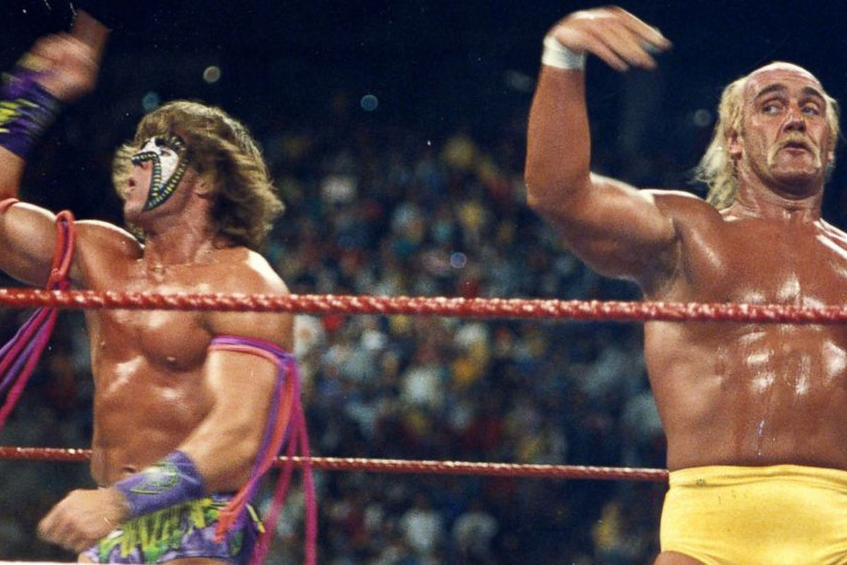 wwe hulk hogan vs ultimate warrior