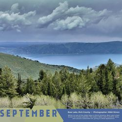 The Utah Geological Survey's annual calendar is on sale depicting some of the most scenic landscapes in the state. The photos are taken by actual geologists and other employees with the agency in what has become a fierce, but friendly competition among employees.
