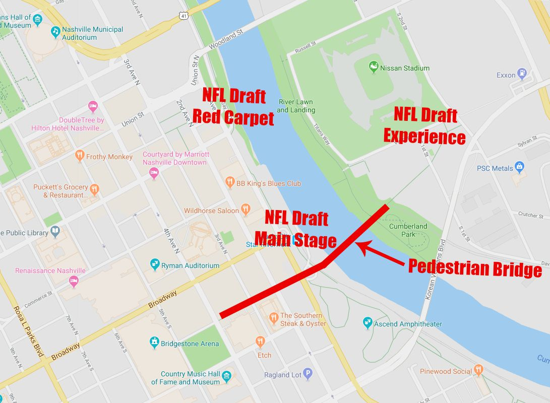 Visitor's guide to enjoying the NFL Draft in Nashville