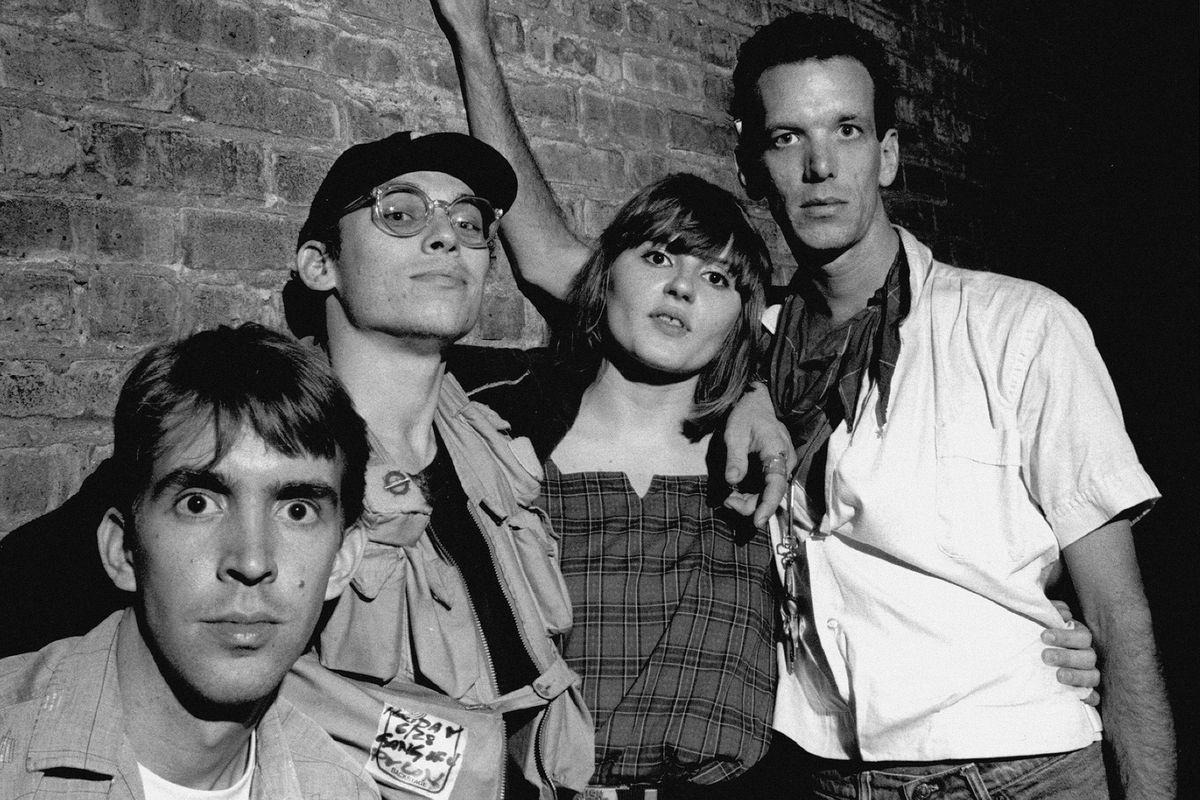 Pylon (from left):Randy Bewley, Curtis Crowe, Vanessa Briscoe Hay and Michael Lachowski.
