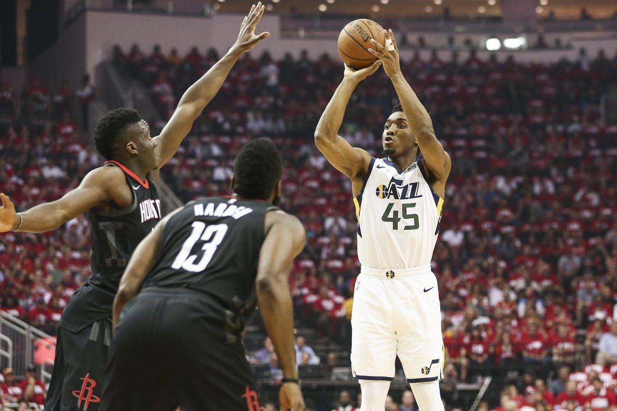 Jazz vs  Rockets final score: Utah ties series with Game 2