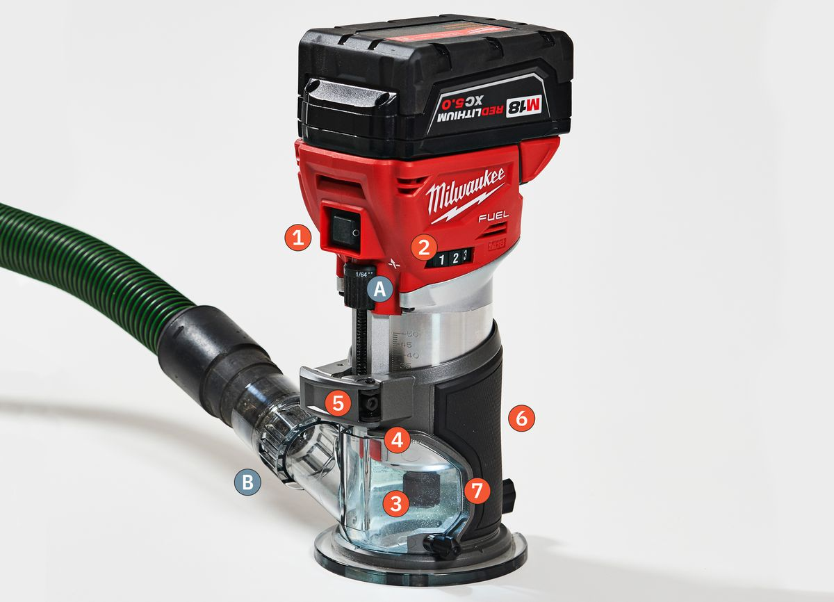 Fall 2021 Tool Lab, compact router from Milwaukee Tool