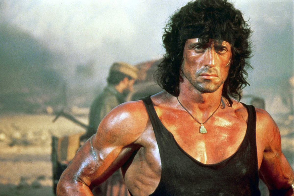sports shoes 49041 a6f4d Sylvester Stallone is developing a Rambo TV series